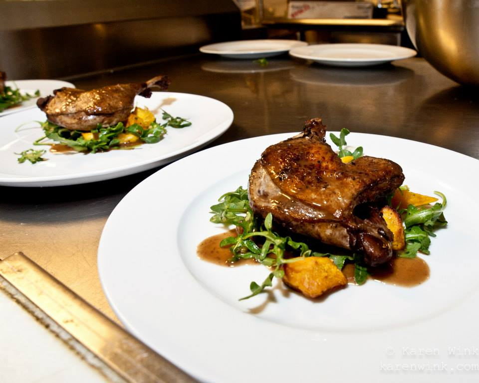 Duck at Serenade Supper Club 2015